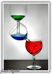 R     G     B (Jamal Alayoubi) Tags: life blue red stilllife green glass 50mm still nikon wine f14 d200 nikkor rgb jamal sb800 picturecollection alayoubi ysplix juwait alemdagqualityonlyclub