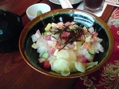 [吃] 和民居食屋 (9)_花飾散壽司丼