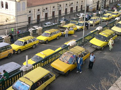 alger taxis (elmina) Tags: algeria taxi trainstation algerie alger