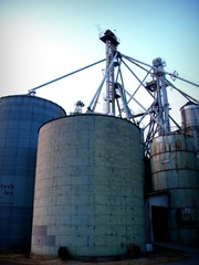 Currituck Grain Inc. (Megan | When Harry Met Salad) Tags: rural photo grainsilo currituck curritucknc ruralnc northeasternnc