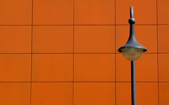 ####|# (ame@muc) Tags: orange lamp wall germany munich europe minimalistic sixt