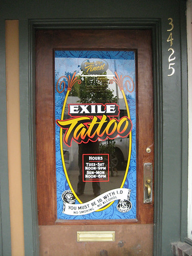 EXILE Tattoo / front door