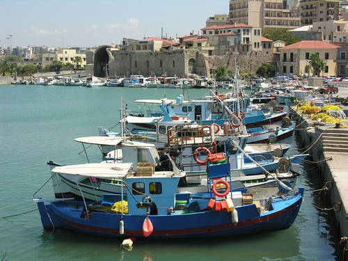 Crete Heraklion, Venetian Port by Phileole