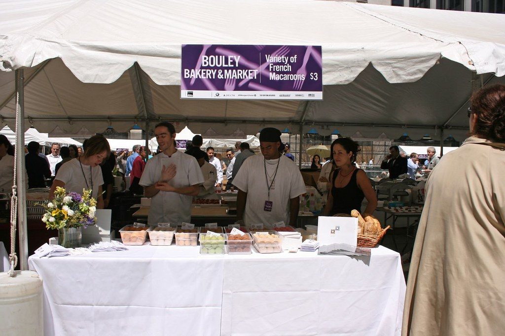 Bouley Bakery's Stand