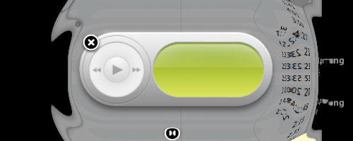 Uno de los múltiples efectos que acompañan la experiencia de usar Mac OS X