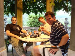 Darren, Brian and I having a Cigar in Tuscany (Scott Holmes) Tags: europe tuscany scottholmes