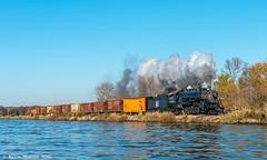 Morning Run-By at Beaver Dam (kdmadore) Tags: steamlocomotive steam soo1003 soo train railroad wisconsinsouthern wsor mikado sooline steamengine
