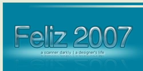 Feliz 2007 para todos los que estan del otro lado