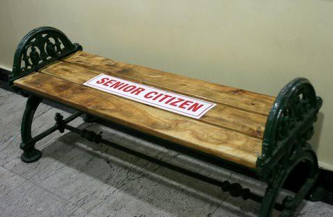 Senior Citizen Seat, Garuda mall