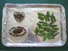 Speedy prep for mushroom lunches