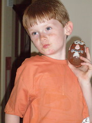 Lewis, Easter Chickenpox Egg