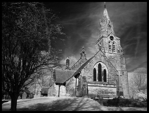 Edale church, Peak District, UK
