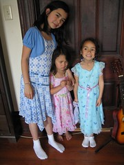 Easter Dresses (breyeschow) Tags: easter evelyn abigail analise