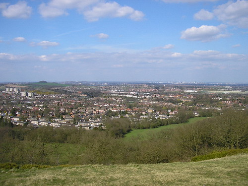 View over Birmingham
