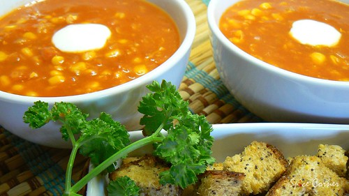 sweetcorn n tomato soup1