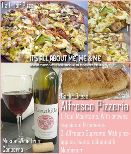alfresco pizza
