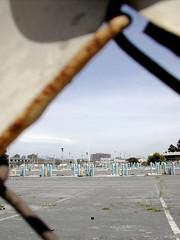 derelict car park