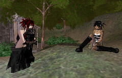 Chandra & October in Midian City