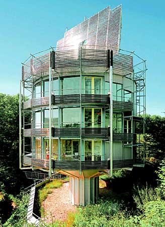 Rolf Disch's Heliotrop Rotating House
