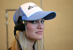 iJustine as Justin.tv (Scott Beale) Tags: oreilly mosconewest justineezarik ijustine justintv web2expo upcoming:event=118824 web20expo web2expo07 w2e web20expo2007 w2e07