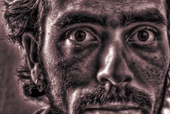 Coal Miner #2 (Josh Sommers) Tags: portrait self coal hdr miner allrightsreserved merman mrcontrast weekendamerica copyrightjoshsommers2007