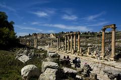 Jerash - Gerasa (gurrygudfinns) Tags: nikond70 jerash gerasa april2007 ancientromancity