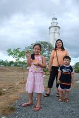 Ang mga Turista ng Cebu...again (mikkotrina) Tags: lighthouse cebu trina amara mikko parola liloan apr22