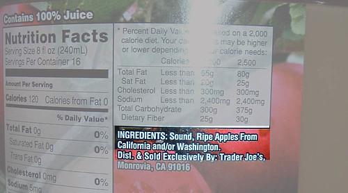 First ingredient:  Sound?