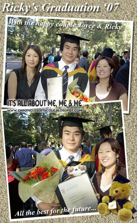 ricky graduation