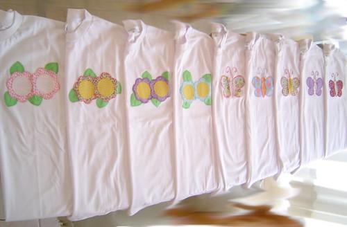 camisetas aplicadas