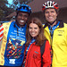 Carl Lewis, Maria Shriver and BB founder Anthony Shriver during the 2004 BBC: HC