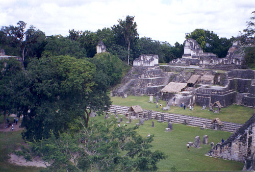 Tikal Main Center