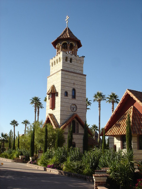 Bell Tower - St. Anthony's Monastery (Greek Orthodox Monastery), Arizona