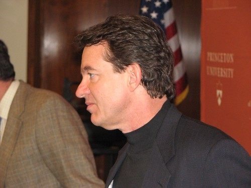 Lawrence Wright at Princeton University, April, 2007 -- TigerHawk exclusive