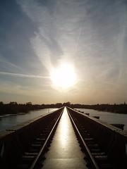 Moerputtenbrug (B-mer) Tags: railroad bridge holland nature water netherlands metal licht tracks nederland natuur brug railroadbridge denbosch brabant spoor 2007 ijzer bmer spoorbrug moerputtenbrug moerputten