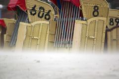 Laboe Beach, Germany (Alexander Marc Eckert) Tags: kiel ostsee baltic sea balticsea meer germany deutschland schleswigholstein laboe beach strand beachchair chair chairs beachchairs strandkorb strandkorbe kielerförde kieler bucht förde fjord allemagne kielalbum flickralbumgermany