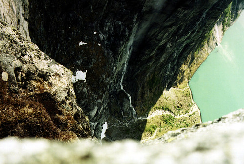 Lysefjorden - Paa kanten av stupet