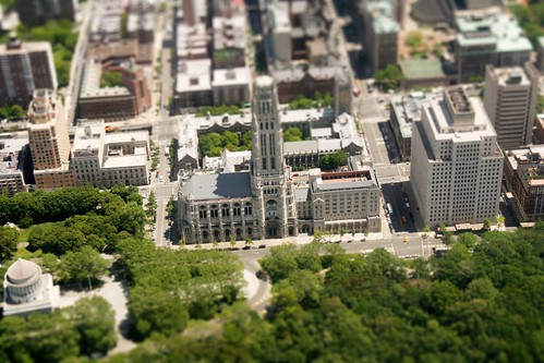 I just recently made this model of the Riverside Church, New York