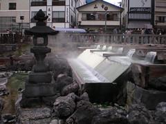 草津溫泉的原泉
