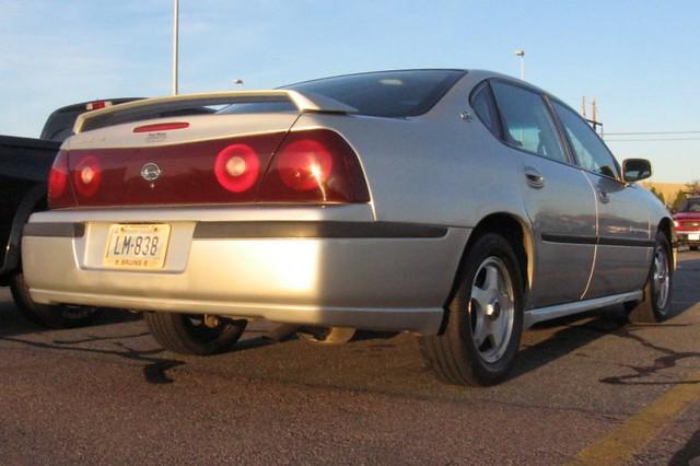 chevrolet 2000 chevy impala ls