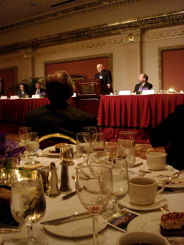 Justice Stevens at the 7th Circuit dinner.
