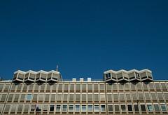 Amsterdam (Bart van Dijk (...)) Tags: building amsterdam skyline architecture 60s sixties architectuur gebouw jaren60 thepritzkerarchitectureprize dyssemetry