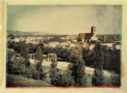 La primera fotografía en color de la historia, por Louis Ducos du Hauron