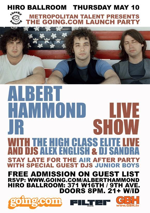 Albert Hammond Free Show @ Hiro Ballroom