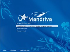 Mandriva Installation Screenshot 1