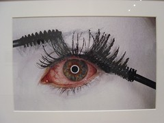 Irving Penn - Mascara Wars (MacEnsteph) Tags: nyc newyorkcity usa ny newyork eye art museum manhattan moma museumofmodernart bigapple irvingpenn mascarawars