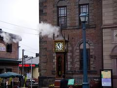 英國式蒸氣時鐘