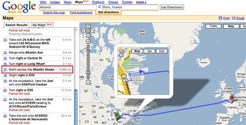 Google Maps Direction Swim Across The Atlantic Ocean Liewcf