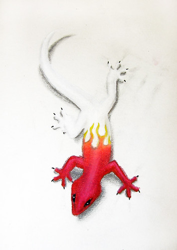 gecko tattoo designs art
