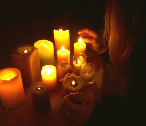 Candle ceremony